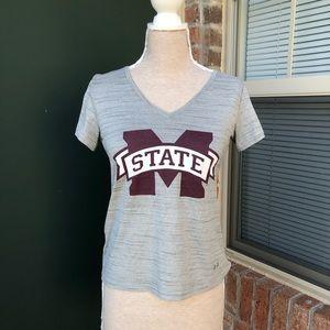Mississippi State University Adidas Short Sleeve